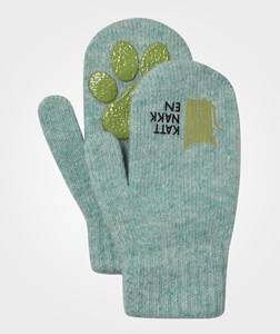 Kattnakken Boys Childrens Clothes Gloves and mittens Blue Magic Wool Mittens Blue