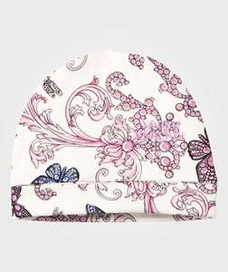 Young Versace Unisex Childrens Clothes Headwear Multi Baroque Hat Pink