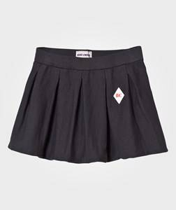 Bobo Choses Girls Skirts Black Pleated Knitted Skirt Black