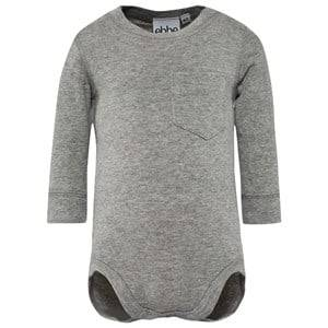 eBBe Kids Unisex Childrens Clothes All in ones Grey Emmet Baby Body Grey Melange