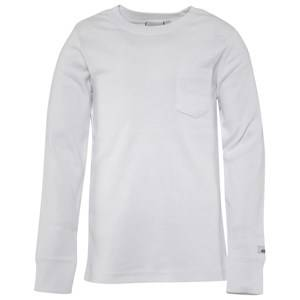 eBBe Kids Unisex Childrens Clothes Tops White Eskil Long Sleeved T-shirt White