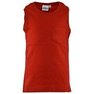 eBBe Kids Unisex Tops Red Emil Tank Top Red