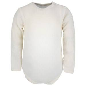 Joha Unisex Childrens Clothes All in ones White Long Sleeved Baby Body Natur