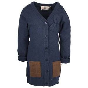 Vingino Girls Childrens Clothes Jumpers and knitwear Blue Inez Cardigan
