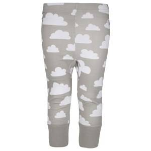 Färg & Form Unisex Childrens Clothes Bottoms Grey Pant Clouds Blue
