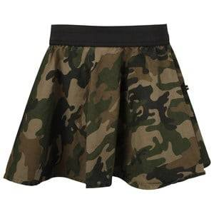 The BRAND Girls Childrens Clothes Skirts Green Vipp Skirt Camo
