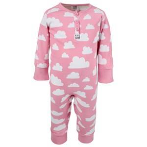 Färg & Form Girls Childrens Clothes Nightwear Pink Moln Bodysuit Rosa