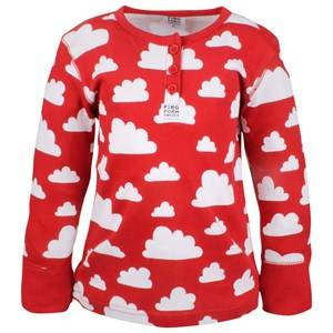 Färg & Form Unisex Childrens Clothes Jumpers and knitwear Red Moln Shirt Red