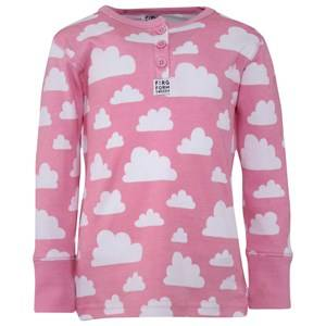 Färg & Form Girls Childrens Clothes Jumpers and knitwear Pink Cloud T-Shirt Pink