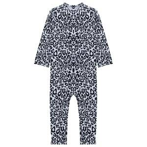 The Tiny Universe Unisex Childrens Clothes Swimwear and coverups Multi The Tiny Snow Leopard/UV-protect