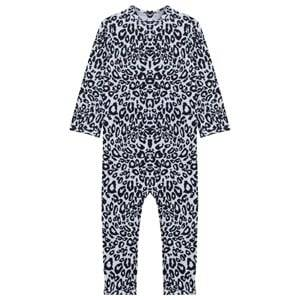 The Tiny Universe Unisex Childrens Clothes Swimwear and coverups Black The Tiny Snow Leopard/UV-protect