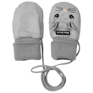Elodie Details Unisex Childrens Clothes Gloves and mittens Grey Mittens Bunny Belle Grey