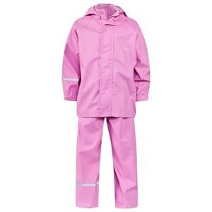 Celavi Girls Childrens Clothes Clothing sets Pink Basic Rain Set Cyclamen