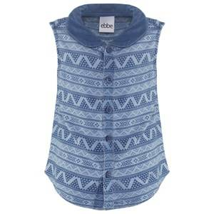 eBBe Kids Girls Tops Blue Pamela Blouse Small Blue Inka