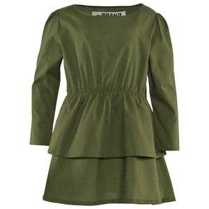 The BRAND Girls Childrens Clothes Dresses Green Boat Dress Army Green