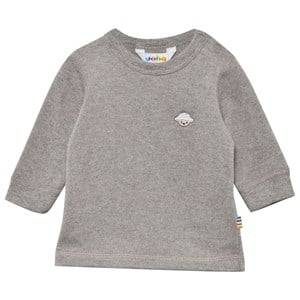 Joha Unisex Childrens Clothes Tops Grey Sweater Silver Melange