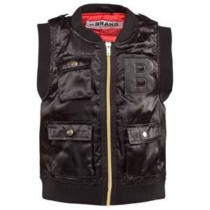 The BRAND Boys Childrens Clothes Coats and jackets Black B Vest Black