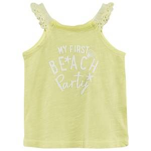United Colors of Benetton Girls Childrens Clothes Tops Yellow Beach Party Tank Yellow