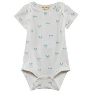Soft Gallery Boys Childrens Clothes All in ones White Anine Body Blue Miki
