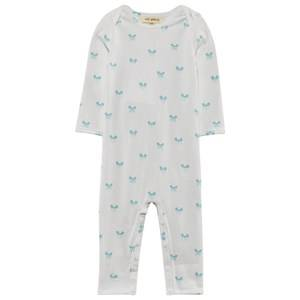 Soft Gallery Boys Childrens Clothes All in ones White Ben Baby One-Piece Blue Miki