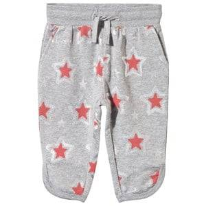 Stella McCartney Kids Girls Childrens Clothes Bottoms Grey Emilie Trouser Pebble