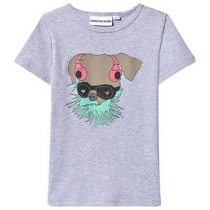 Gardner and the gang Unisex Childrens Clothes Tops Grey The cool Greg Tee Grey