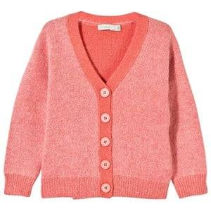 Stella McCartney Kids Girls Childrens Clothes Jumpers and knitwear Pink Betsy Cardigan Pop