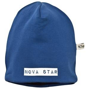 Nova Star Unisex Childrens Clothes Headwear Blue Fleece Lined Beanie Marine Blue