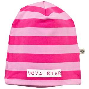 Nova Star Unisex Childrens Clothes Headwear Pink Beanie Striped Pink