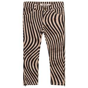 Bobo Choses Unisex Childrens Clothes Bottoms Pink Hypnotized SlimFit Trousers Pink