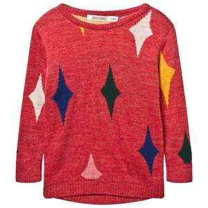 Bobo Choses Unisex Childrens Clothes Jumpers and knitwear Red Baby Jumper Magic Powders