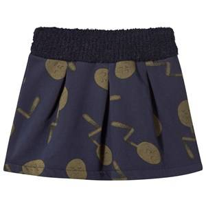Bobo Choses Girls Childrens Clothes Skirts Blue Spoons Skirt
