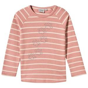 Wheat Girls Childrens Clothes Tops Pink T-Shirt Sienna Soft Rouge