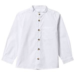 Wheat Boys Childrens Clothes Tops White Shirt Pocket White