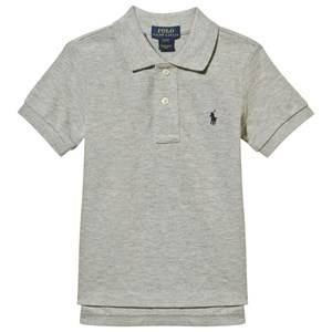 Ralph Lauren Boys Childrens Clothes Tops Multi Classic Polo Shirt New Grey Heather