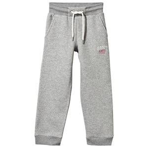 Gant Boys Childrens Clothes Bottoms Grey Sweat Pants Grey