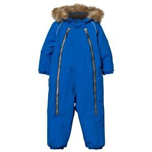 Ticket to heaven Unisex Childrens Clothes Coveralls Blue Snowbaggie Suit Princess Blue