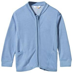 Joha Unisex Childrens Clothes Jumpers and knitwear Blue Cardigan Arctic Zone Solid Blue