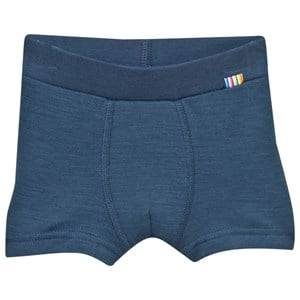 Joha Unisex Childrens Clothes Underwear Blue Arctic Zone Boxer Shorts Solid Blue