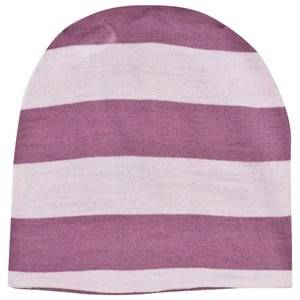 Joha Girls Childrens Clothes Headwear Pink Block Striped Hat Pink