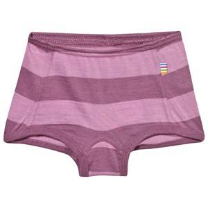 Joha Girls Childrens Clothes Underwear Pink Block Striped Hipster Pink