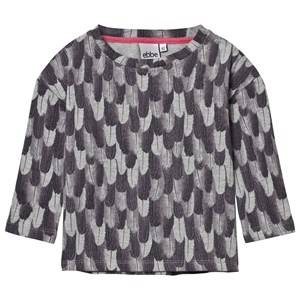 eBBe Kids Unisex Jumpers and knitwear Multi Zia Feather Sweat Top