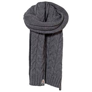 Moncler Unisex Childrens Clothes Scarves Grey Scarf Grey