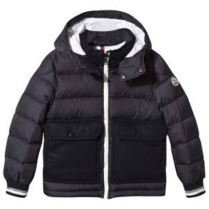 Moncler Unisex Childrens Clothes Coats and jackets Navy Rebelais Jacket Navy