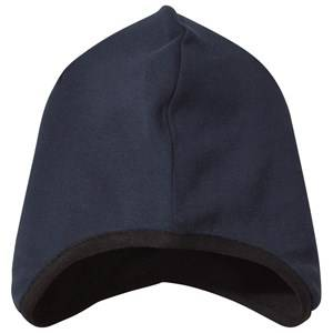 Geggamoja Boys Childrens Clothes Headwear Navy Beanie Marine Blue