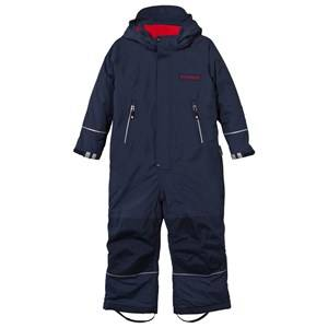 Geggamoja Boys Childrens Clothes Coveralls Navy Winter Coverall Navy