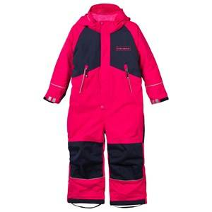 Geggamoja Girls Childrens Clothes Coveralls Pink Winter Coverall Raspberry