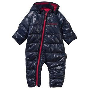 Geggamoja Boys Childrens Clothes Coveralls Navy Light Weight Coverall Navy