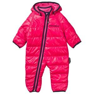 Geggamoja Girls Childrens Clothes Coveralls Pink Light Weight Coverall Raspberry