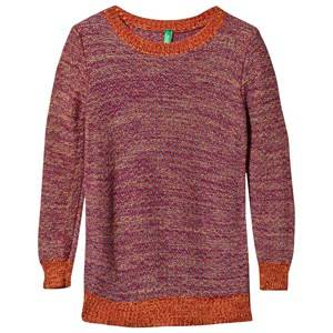 United Colors of Benetton Boys Childrens Clothes Jumpers and knitwear Red Knit jumper Red